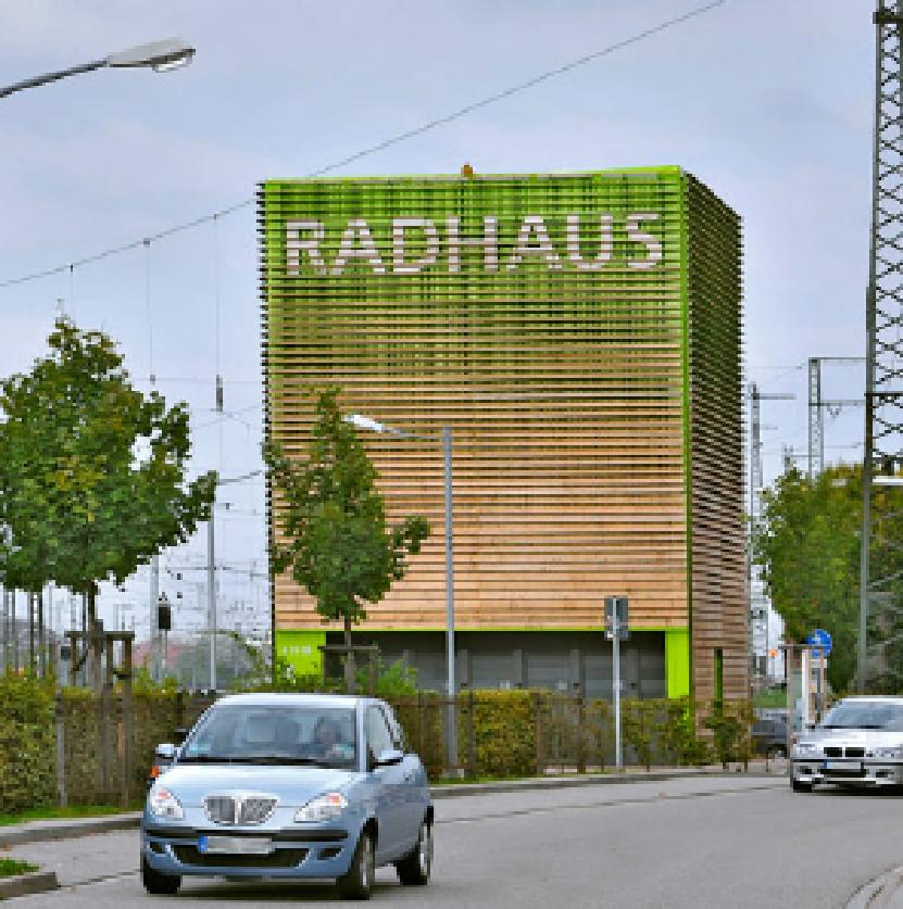 "bycicle station ""Radhaus"""
