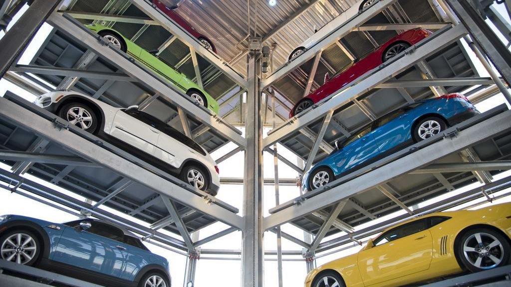 parktower parking levels