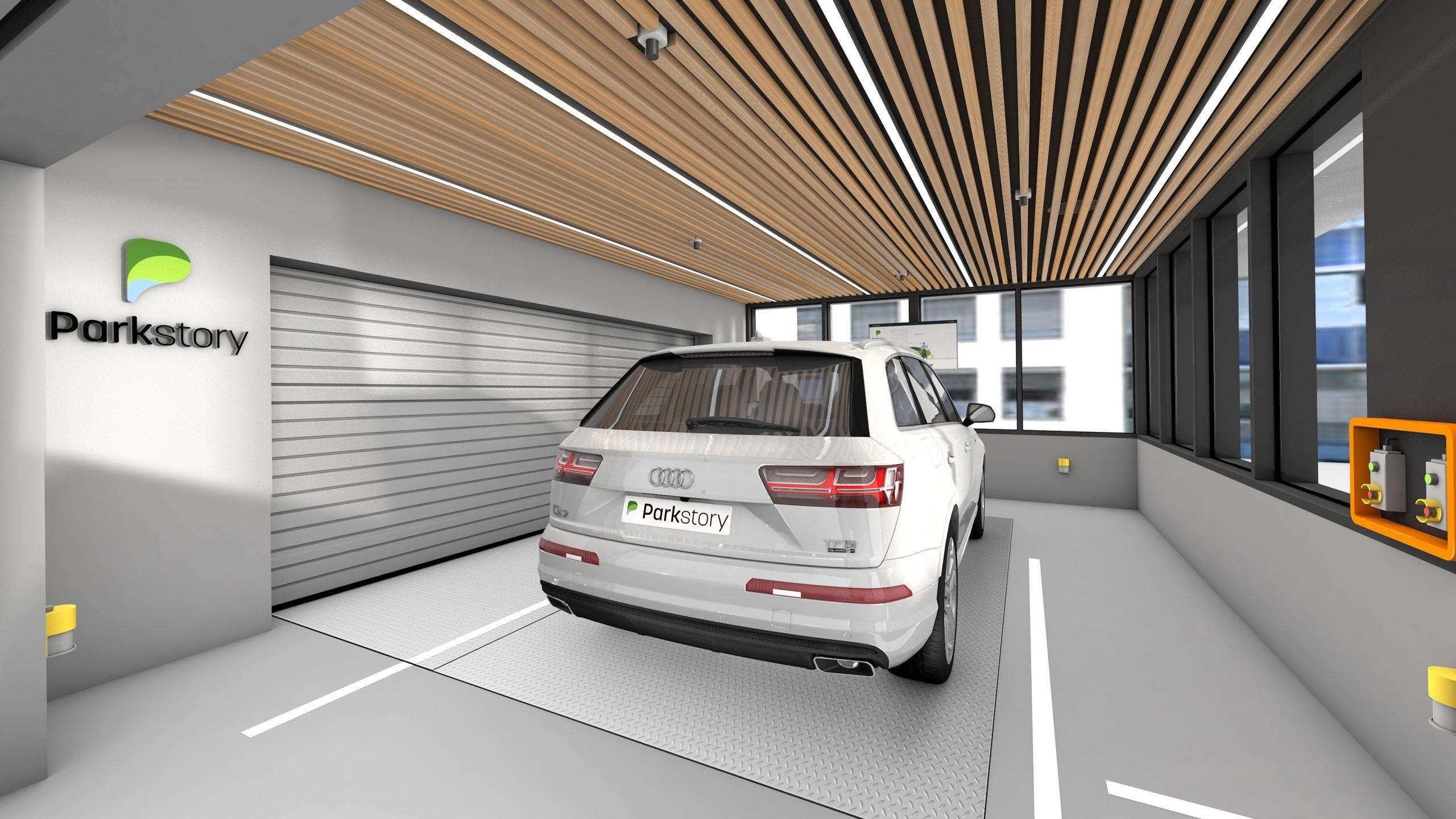 Parkstory xxl parking lounge