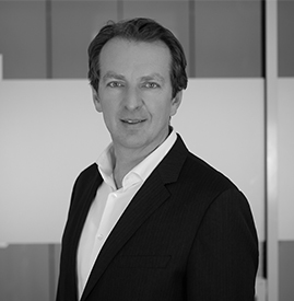 black and white picture of Jürgen Lukas